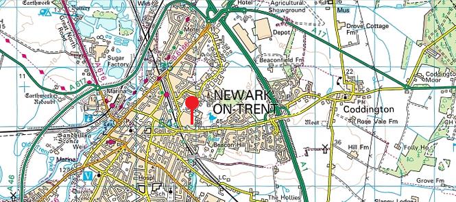 M0NWK amateur radio station QTH - Newark on Trent