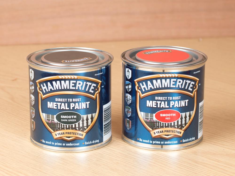 M0NWK Hammerite paint