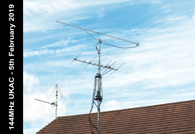 144MHz UKAC contest – 5th February 2019 – M0NWK
